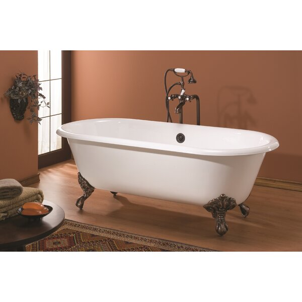 Regal Cast Iron 70 x 32 Freestanding Soaking Bathtub by Cheviot Products