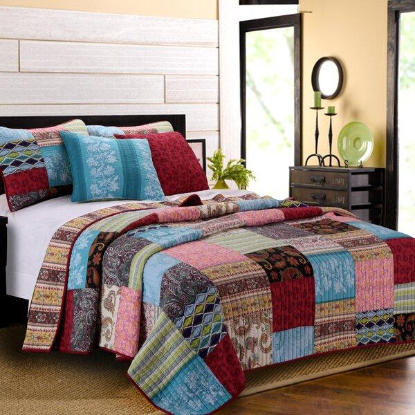 Tovin Bonus Reversible Quilt Set by Bloomsbury Market