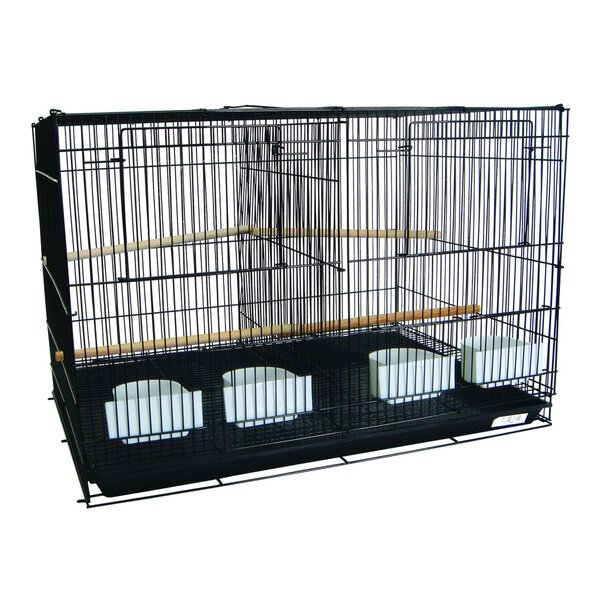 Small Bird Cage with Divider by YML