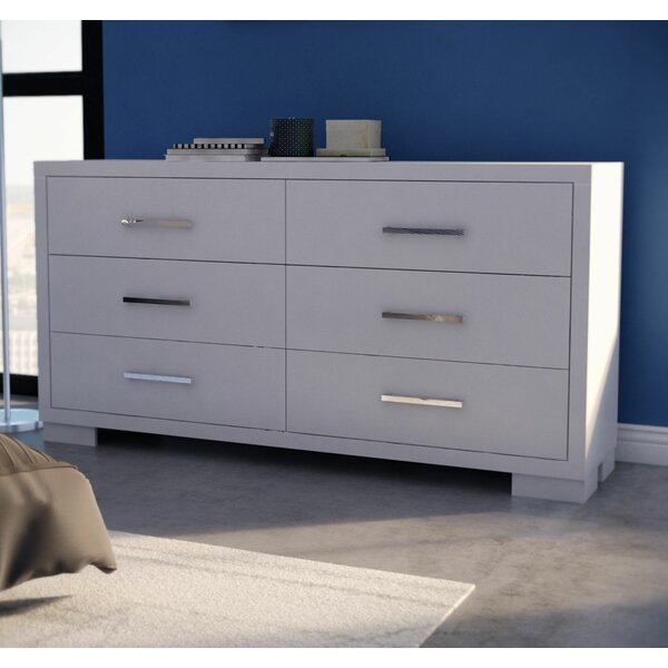 6 Drawer Double Dresser by Wade Logan