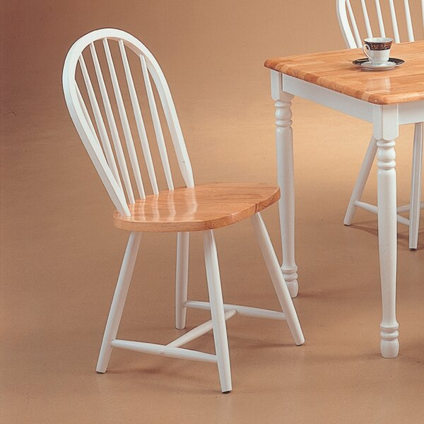 Ilka Solid Wood Dining Chair (Set of 4) by August Grove