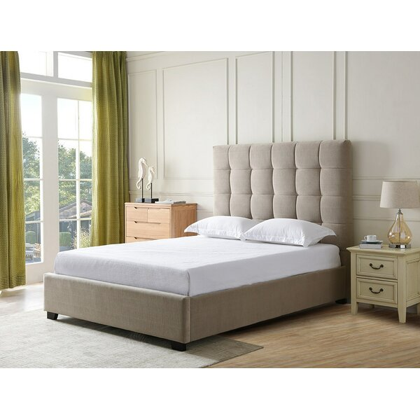 Monte Upholstered Standard Bed by Alcott Hill