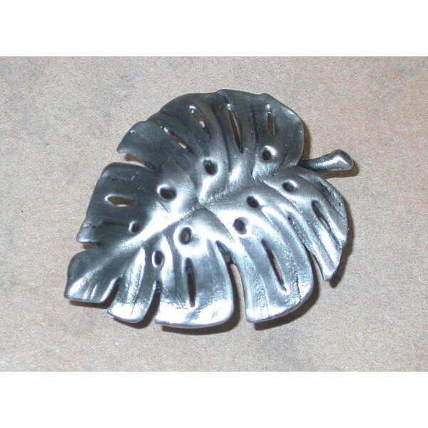 Philodendron Leaf Novelty Knob by D'Artefax