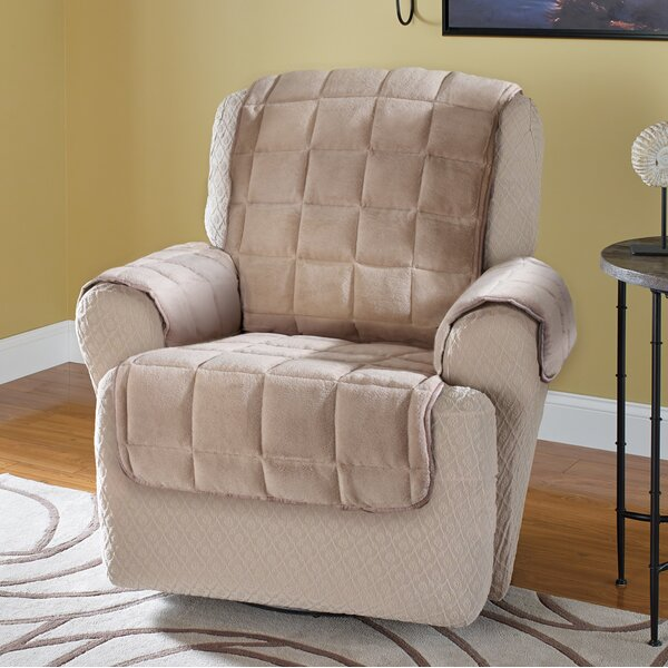 Burnham Protector T-Cushion Recliner Slipcover by Red Barrel Studio