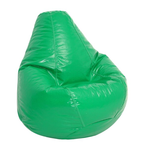 Large Faux Leather Bean Bag Chair & Lounger By Ebern Designs