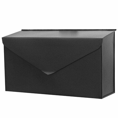 Envelope wall mounted mailbox