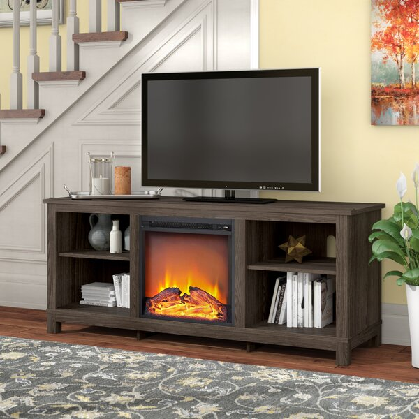 Gaither 58 TV Stand with Fireplace by Alcott Hill