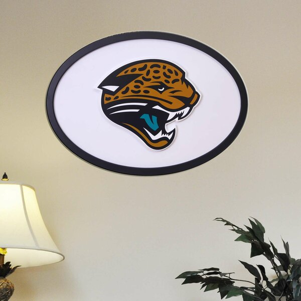 NFL Logo Textual Art Plaque by Fan Creations