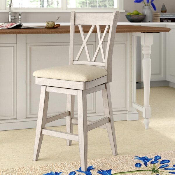 Colasanto 25.78 Swivel Bar Stool by August Grove