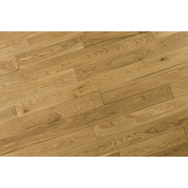 Alzamora 3.5 Solid Oak Hardwood Flooring in Natural Tan by Albero Valley