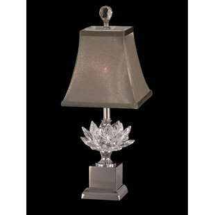 Order Dickerson Crystal Accent 17.25 Table Lamp By House of Hampton