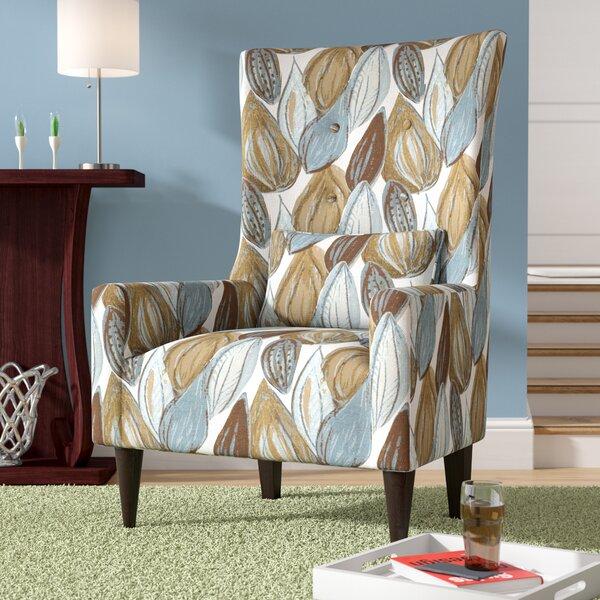 Caryn 22.5-inch Wingback Chair By Laurel Foundry Modern Farmhouse