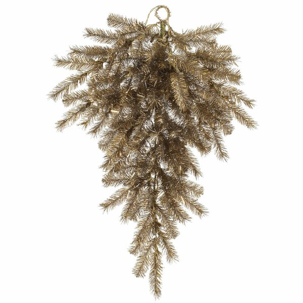 Altizer Orchid Tinsel Artificial Swag by The Holiday Aisle