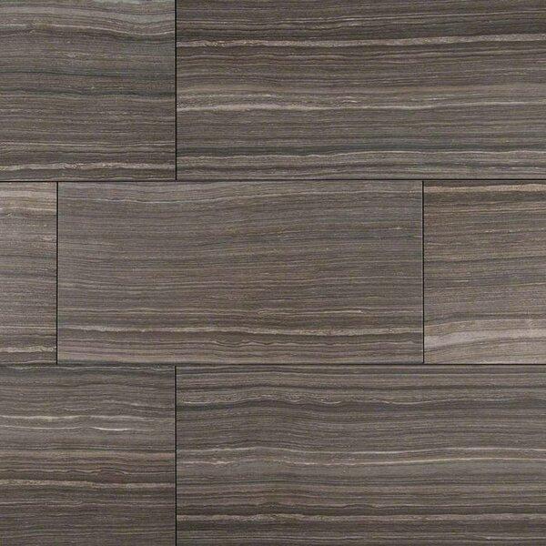 Eramosa 12 x 24 Porcelain Wood Look/Field Tile in Gray by MSI