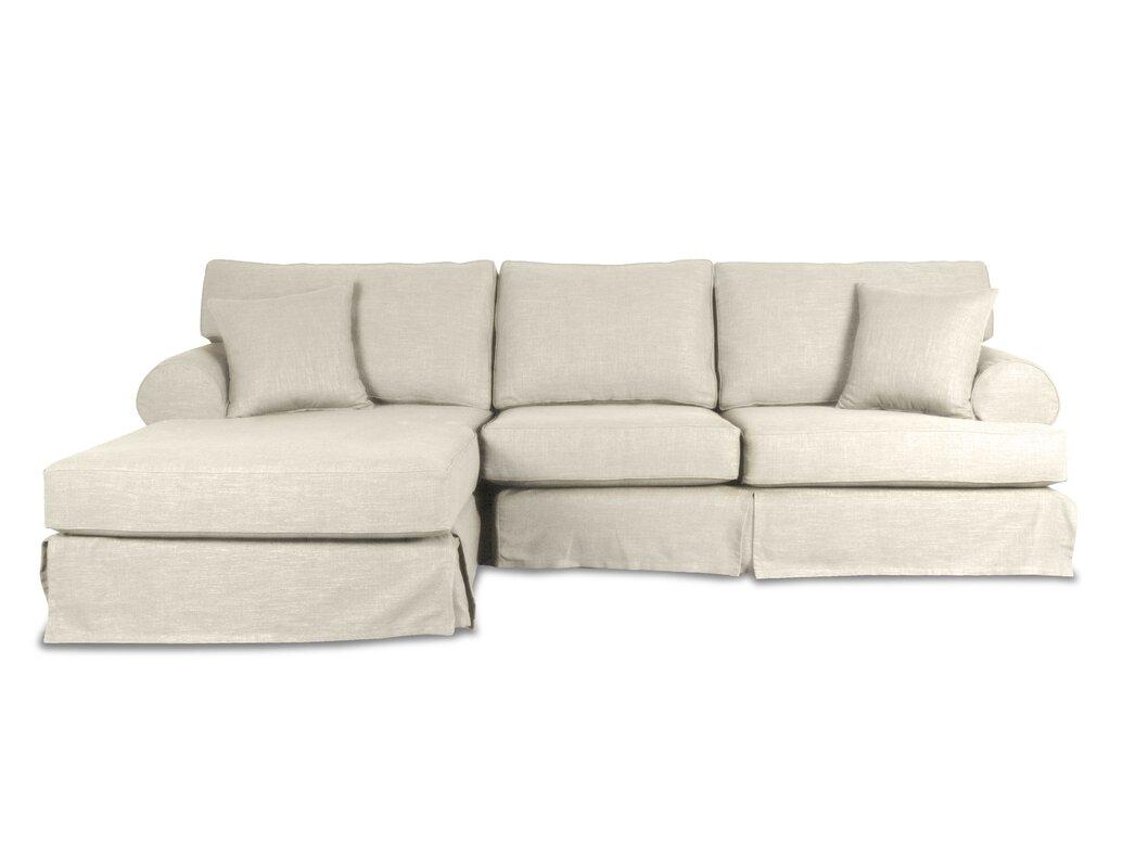 Jacqueline Sectional  sc 1 st  Wayfair : slipcover sectional sofas - Sectionals, Sofas & Couches