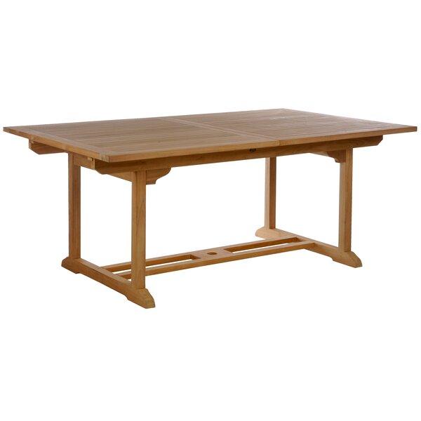 Teak Extendable Coffee Table: ChicTeak Elzas Teak Extendable Dining Table & Reviews
