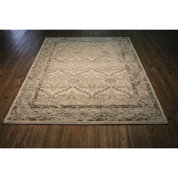 Lansdown Persian Ivory/Gray Area Rug by One Allium Way