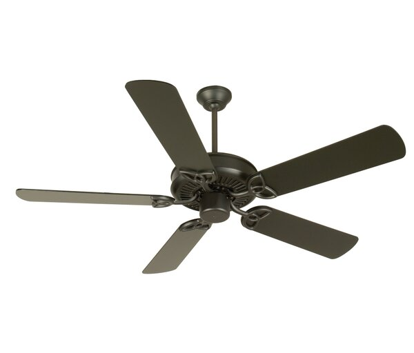 52 Holmstrom Traditional 5-Blade Ceiling Fan by Alcott Hill