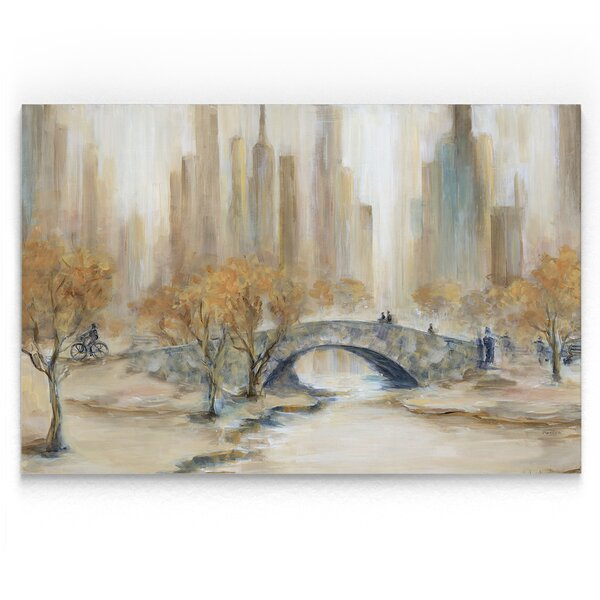 Central Park Acrylic Painting Print By Red Barrel Studio.