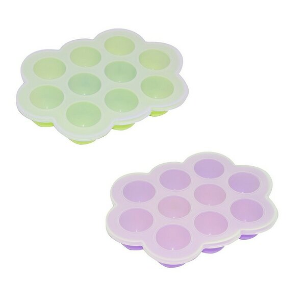 10-Cup Non-Stick Silicone Multipurpose Container (Set of 2) by ALEKO