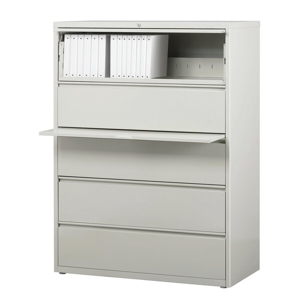 Kissena 5 Drawer Lateral Filing Cabinet by Symple Stuff