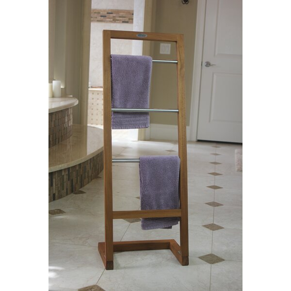 Free Standing Towel Stand by Aqua Teak