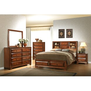 Asger Queen Platform Configurable Bedroom Set By Roundhill Furniture
