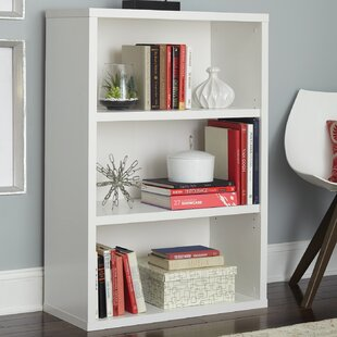 Decorative 3 Shelf Standard Bookcase ClosetMaid