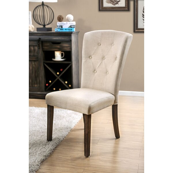 Kermit Upholstered Dining Chair by Alcott Hill