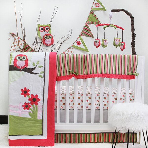 Perseus Owl 10 Piece Crib Bedding Set by Harriet B