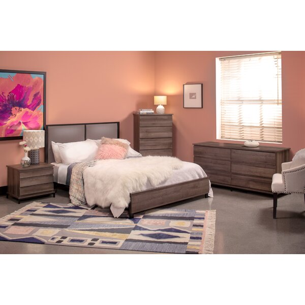 Tufo Queen Standard 4 Piece Bedroom Set by Union Rustic