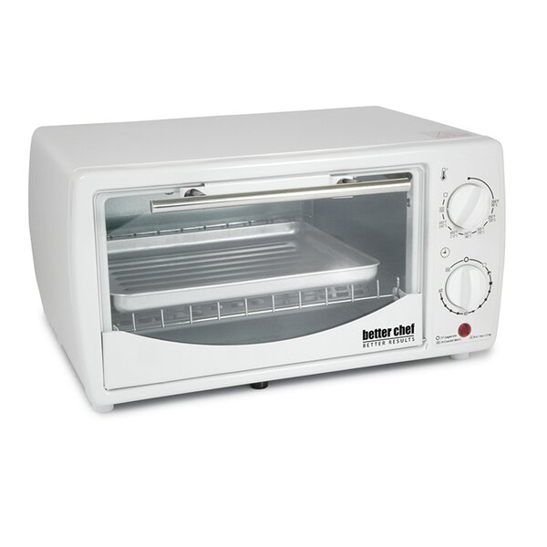 0.32 Cubic Foot Toaster Oven Broiler by Better Chef