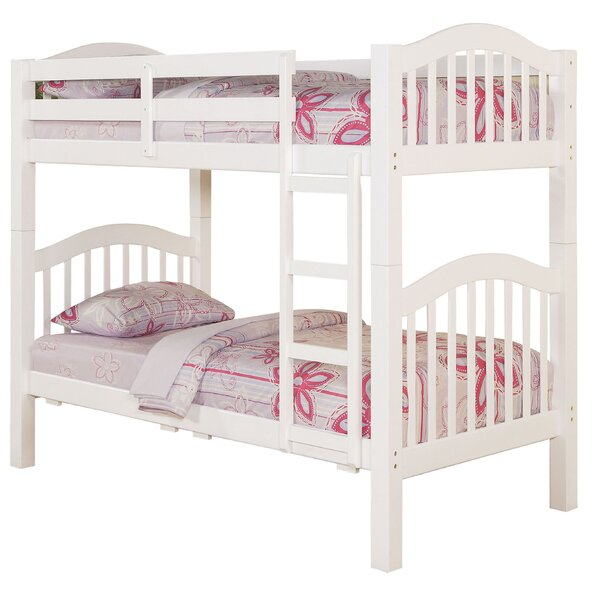 Dwaine Twin over Twin Bunk Bed by Harriet Bee