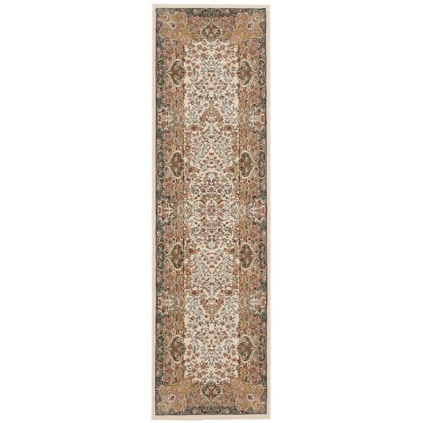 Antiquities Stately Empire Ivory Area Rug by Kathy Ireland Home