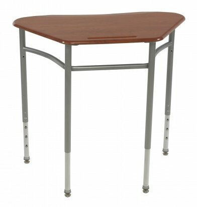 Plastic Adjustable Height Collaborative Desk by Columbia Manufacturing Inc.