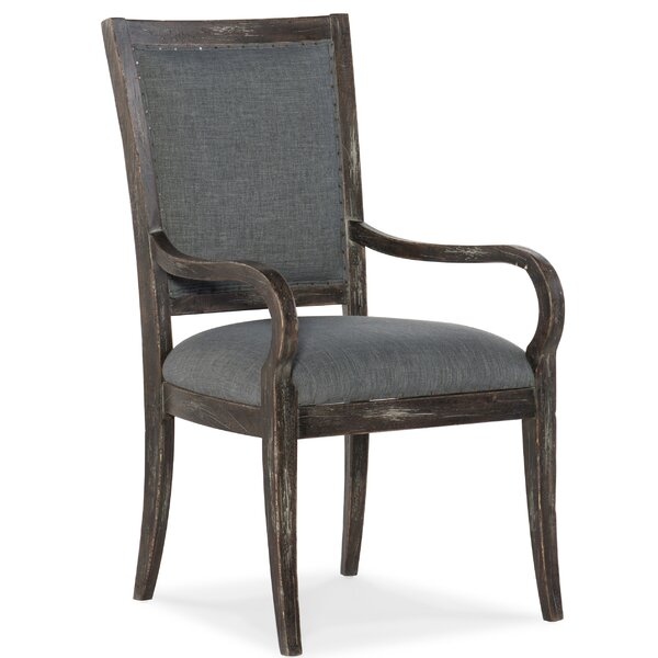 Beaumont Upholstered Dining Arm Chair by Hooker Furniture