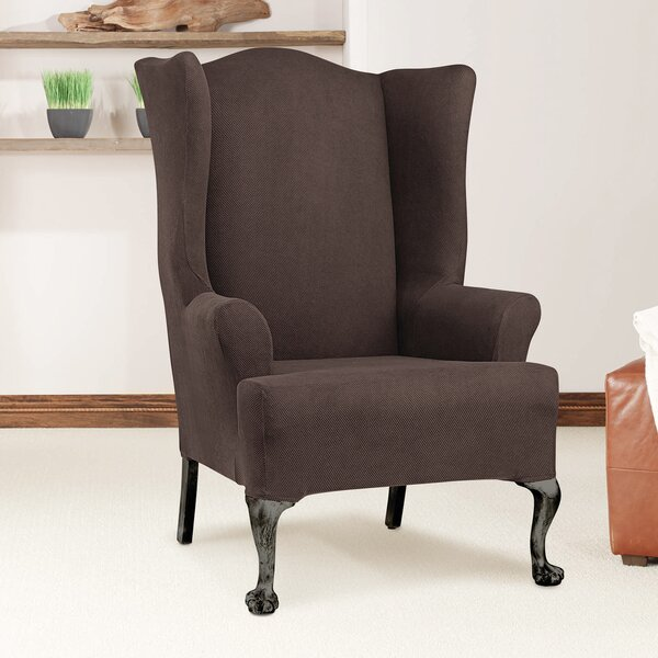 T-Cushion Wingback Slipcover by Sure Fit