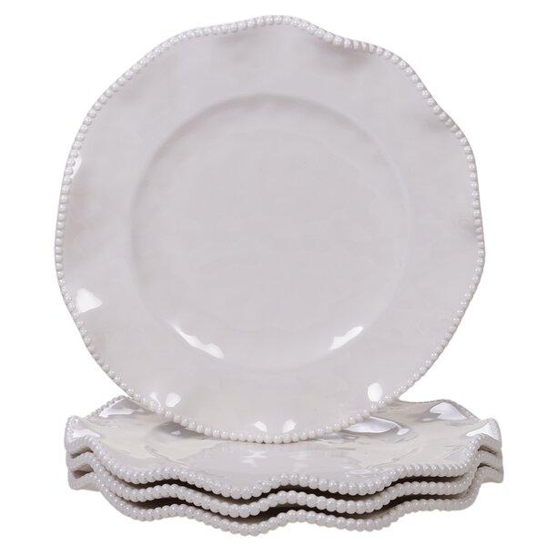 Cave Melamine Dinner Plate (Set of 4) by Highland Dunes