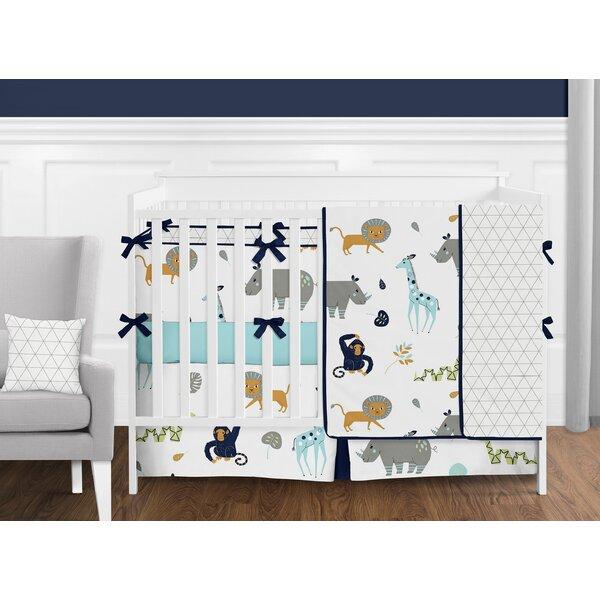Mod Jungle 9 Piece Crib Bedding Set by Sweet Jojo Designs