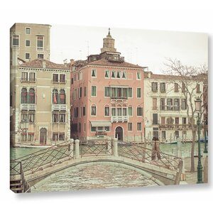Sunday Morning in Venice Photographic Print on Wrapped Canvas by Ophelia & Co.