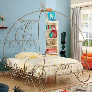 Savings Hague Twin Canopy Bed ByZoomie Kids