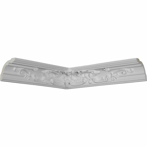 Emery 4H x 19 3/4 W x 19 3/4D Inside Corner Crown Moulding by Ekena Millwork