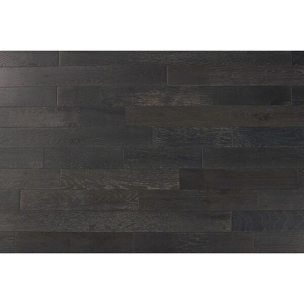 Hilltop 3 Solid Oak Hardwood Flooring in Graphite by Albero Valley