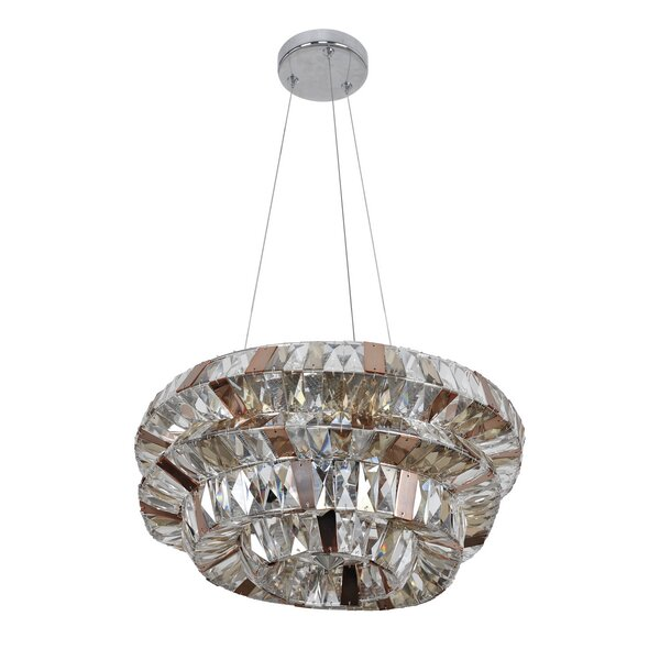 Moxley 5-Light Unique / Statement Geometric Chandelier By Mercer41