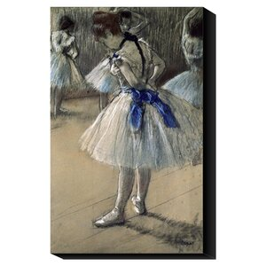 'Danseuse, Dancer' by Edgar Degas Painting Print on Canvas by Global Gallery