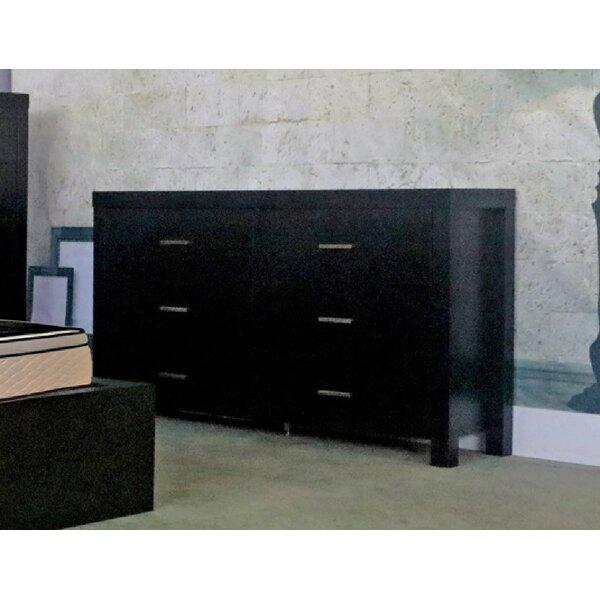 6 Drawer Double Dresser by Latitude Run