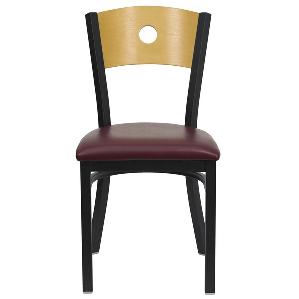 Hera Circle Back Side Chair by Latitude Run