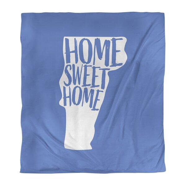 Home Sweet Vermont Single Reversible Duvet Cover