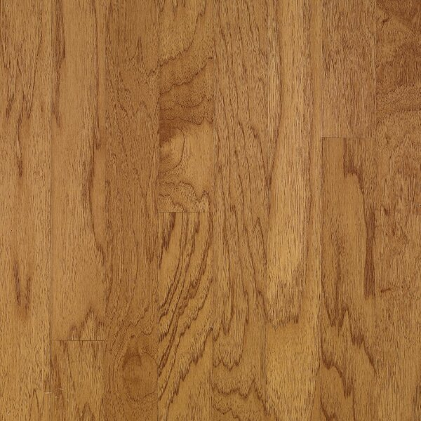 Turlington 3 Engineered Hickory Hardwood Flooring in Smoky Topaz by Bruce Flooring