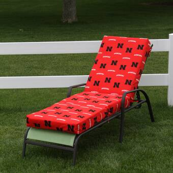 College Covers Ncaa West Virginia Indoor Outdoor Chaise Lounge Cushion Wayfair